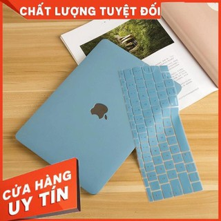 Ốp + Phủ Phím Macbook Xanh Pastel ốp macbookpro ốp macbookair 2010-2020