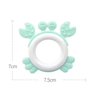 [Mã TOYJAN hoàn 20K xu đơn 50K] Đồ chơi ngậm mọc răng bằng silicone cho trẻ em thumbnail