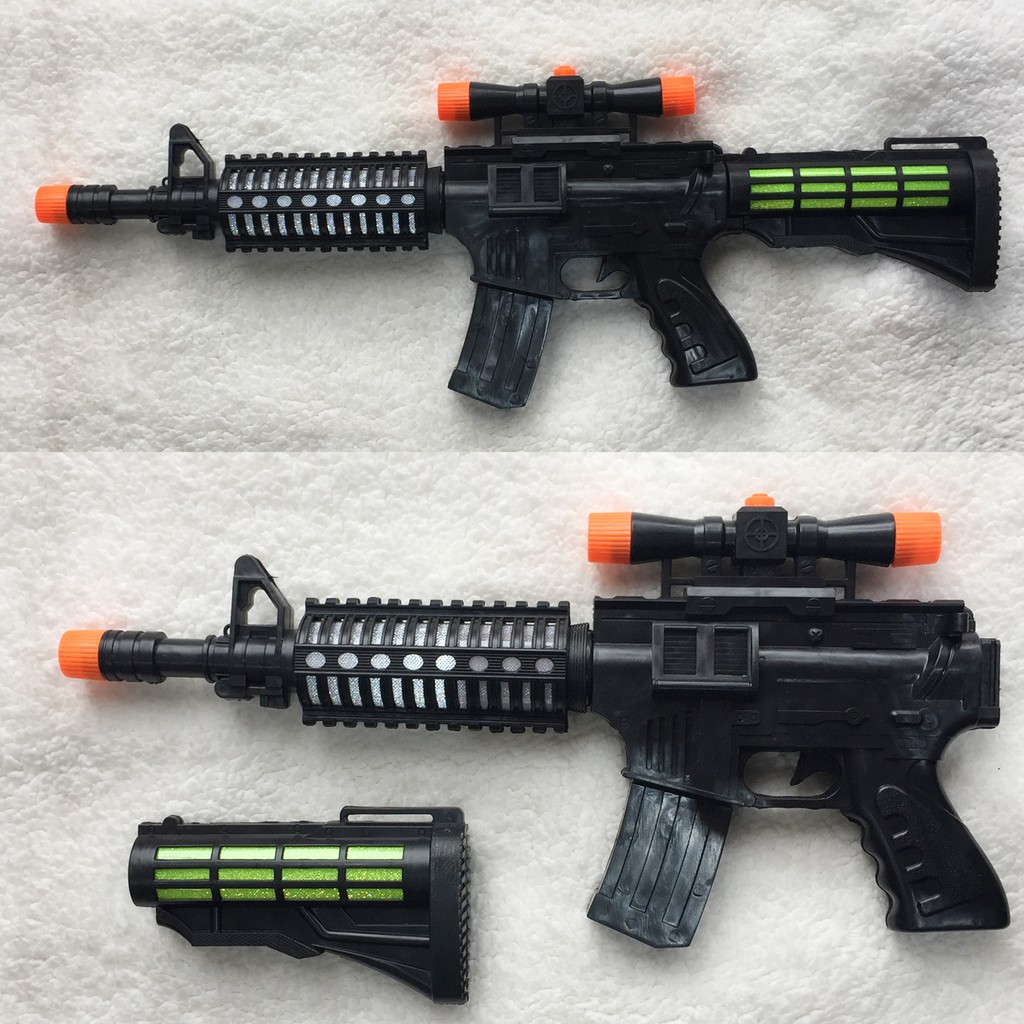 Đồ chơi súng AK đen dài 57cm có nhạc đèn - 3306976 , 840471241 , 322_840471241 , 79000 , Do-choi-sung-AK-den-dai-57cm-co-nhac-den-322_840471241 , shopee.vn , Đồ chơi súng AK đen dài 57cm có nhạc đèn