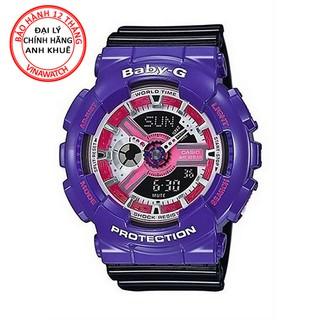 Đồng hồ Nam G-Shock Casio dây nhựa kim-điện tử GA-110NC-6ADR - Chính hãng Casio Anh Khuê thumbnail