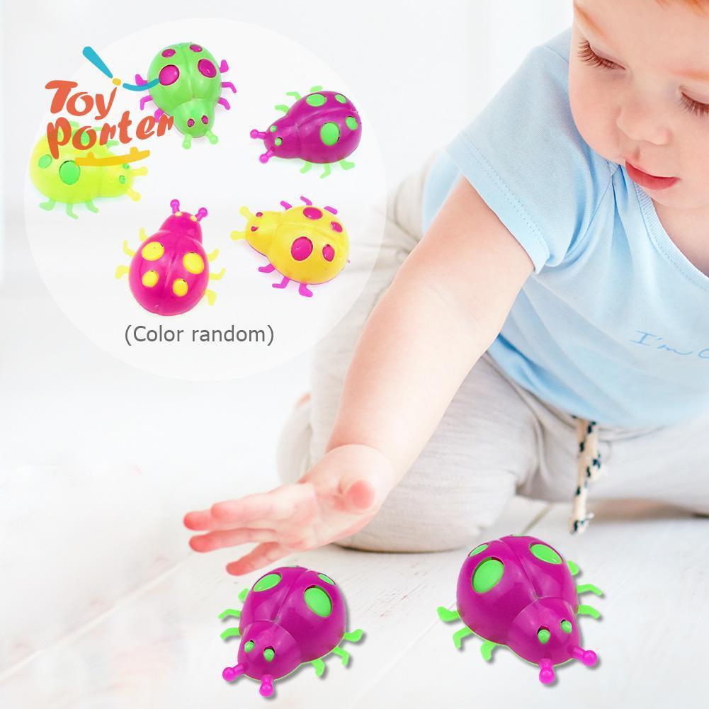 Set 5 chú bọ rùa bằng nhựa đồ chơi thú vị cho bé