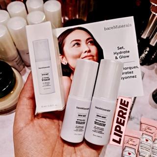 [BareMinerals] Xịt khoáng makeup Dew Mist Shimmering Setting Spray thumbnail