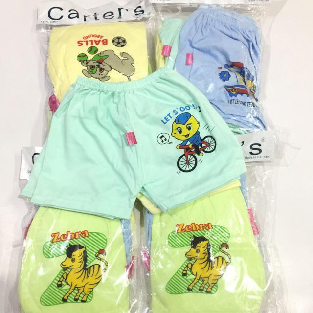 Combo 5 quần đùi cộc Carter chất đẹp mặc mát