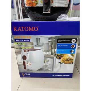 nồi chiên không dầu KATOMO 656 (thương hiệu Nhật bản)