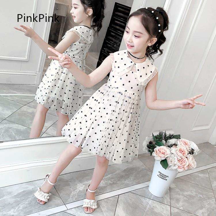 PinkBaby  Small dress Girl dress  Floral dress Thời Trang Trẻ Em  Special price  Skirt  temperament  Dress dress