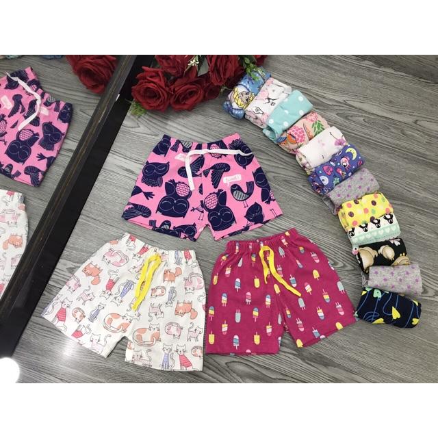 Set 10 quần chục caster bé gái
