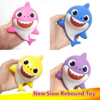 Đồ chơi nắn bóp giúp giải tỏa căng thẳng hình chú cá mập đáng yêu