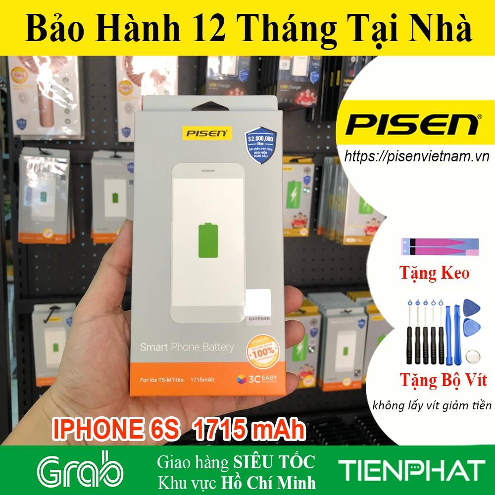 Pin iPhone 6s - Chất lượng cao - Chính hãng Pisen