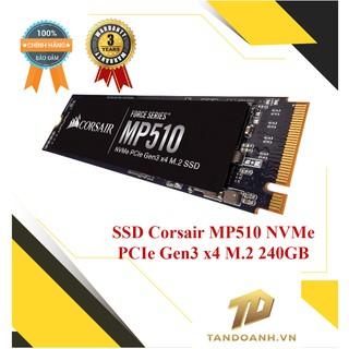 Ổ cứng SSD Corsair MP510 NVMe PCIe Gen3 x4 M.2 240GB
