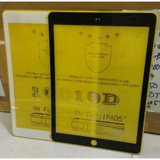 Kính cường lực Full màn 10D cho ipad Air/ipad 5