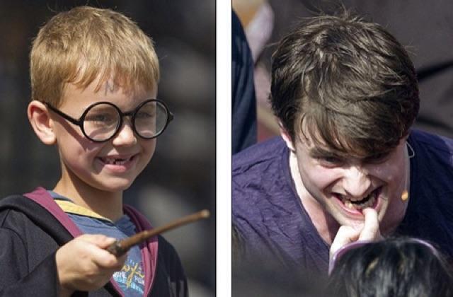 Kính Harry potter cho bé