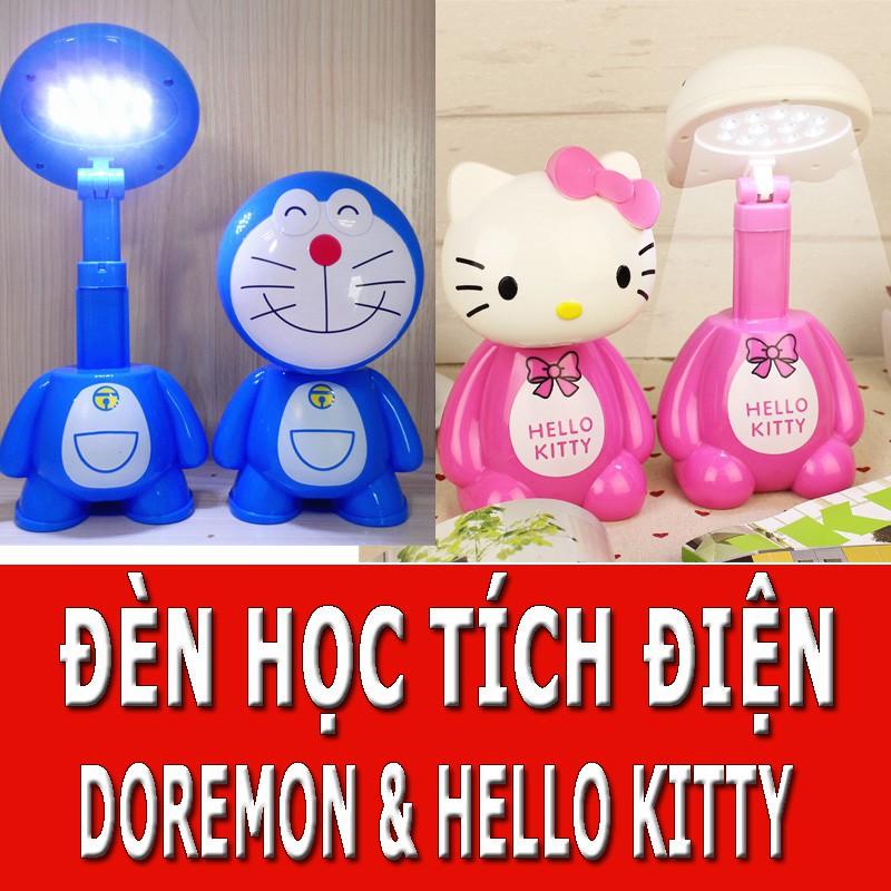 Đèn Tích Điện Để Bàn Hello Kitty - Doremon