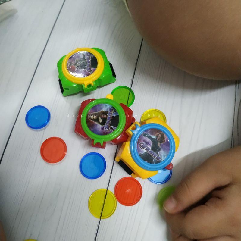 Đồng hồ máy bắn đĩa đồ chơi cho bé