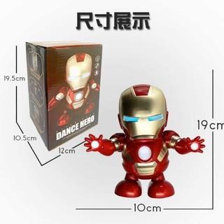 [Flash Sale] Robot iron man nhảy múa theo nhạc Tiktok – Avengers Iron Man