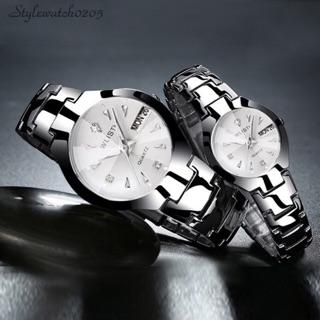 Đồng hồ cặp nam nữ WLISTH chính hãng dây inox cao cấp - Giá 1 cái thumbnail