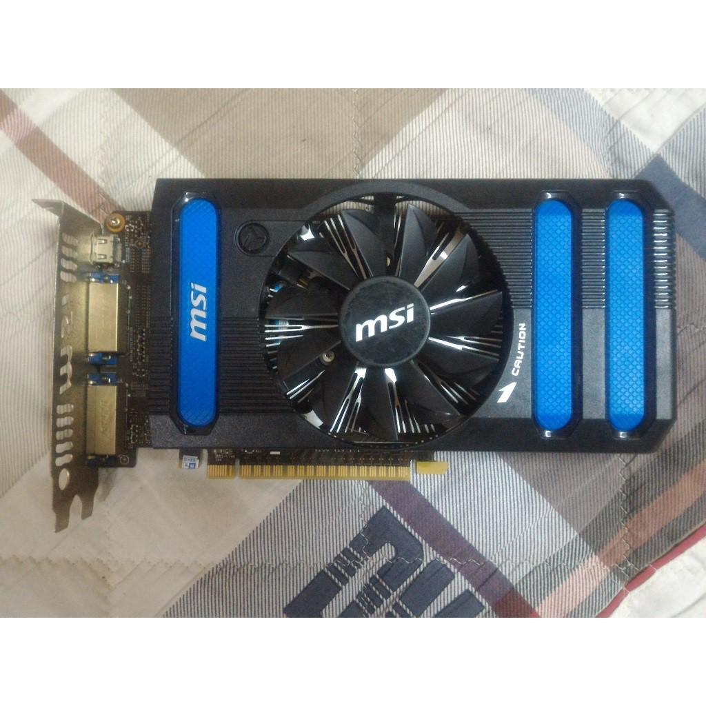 Card màn hình MSI GeForce GTX 650 1GB GDDR5 (N650-1GD5)