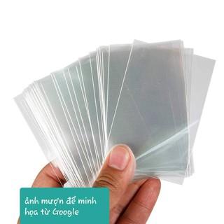 Sleeve bọc và bảo vệ thẻ cầu thủ/thẻ bóng đá – bảo vệ những tấm thẻ của bạn chỉ với 1k/1 cái
