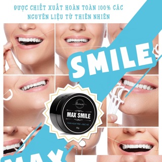 Than hoạt trắng răng maxsmile hoàn toàn thiên nhiên an toàn hiệu quả 100%