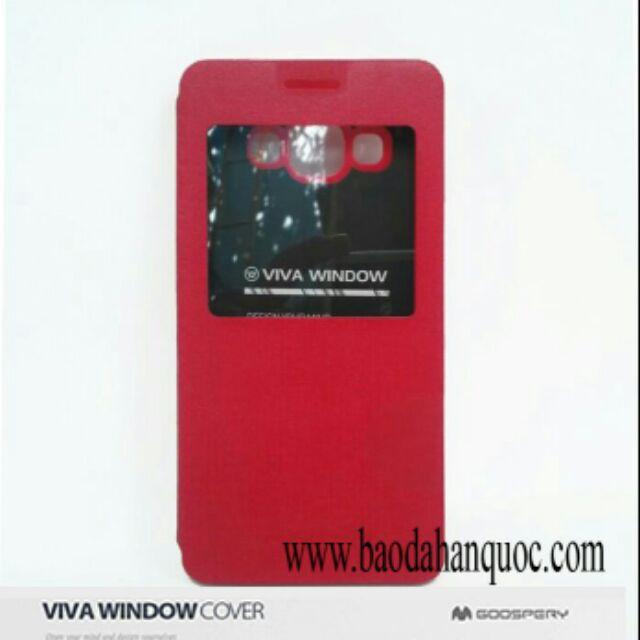 Bao da Galaxy Alpha G850 hiệu Viva window