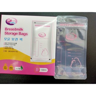 Túi trữ sữa GB Baby 100ml – 30 tờ