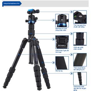 Chân máy ảnh Benro IF19 chính hãng bảo hành 12 tháng