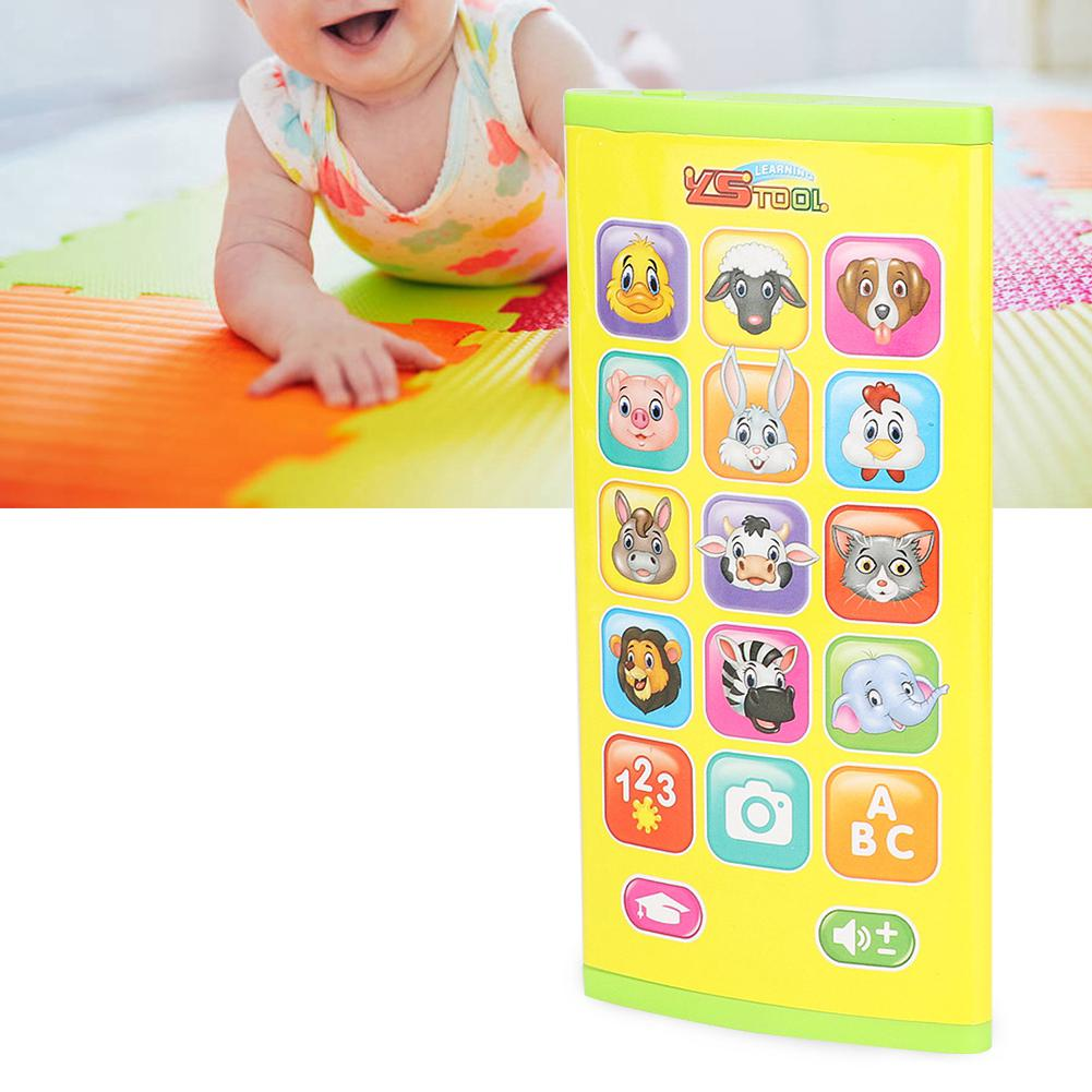 Havasshop English ABS educational toy interaction simulation toy cell phone early childhood electronic learning