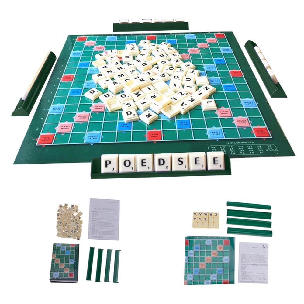 Bộ bảng chơi trò chơi ô chữ thông minh và giải trí cao kèm phụ kiện