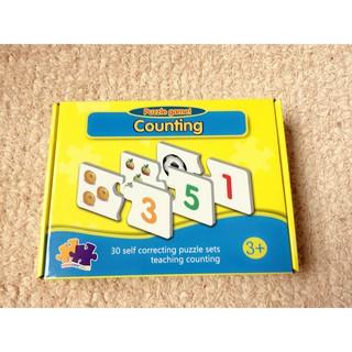 Thẻ học thông minh Match it counting – bé học đếm