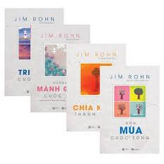 Sách Bộ Sách Jim Rohn (4 cuốn)