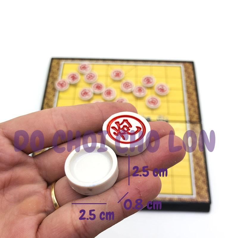 Bàn cờ TƯỚNG bằng nhựa SIZE 28x29 cm - Co tuong Bàn nhựa Nhỏ