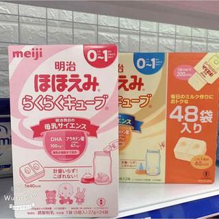 Sữa Meiji thanh số 0-1 hàng nội địa Nhật 648gr [Date 2022-Hộp 24 thanh] thumbnail