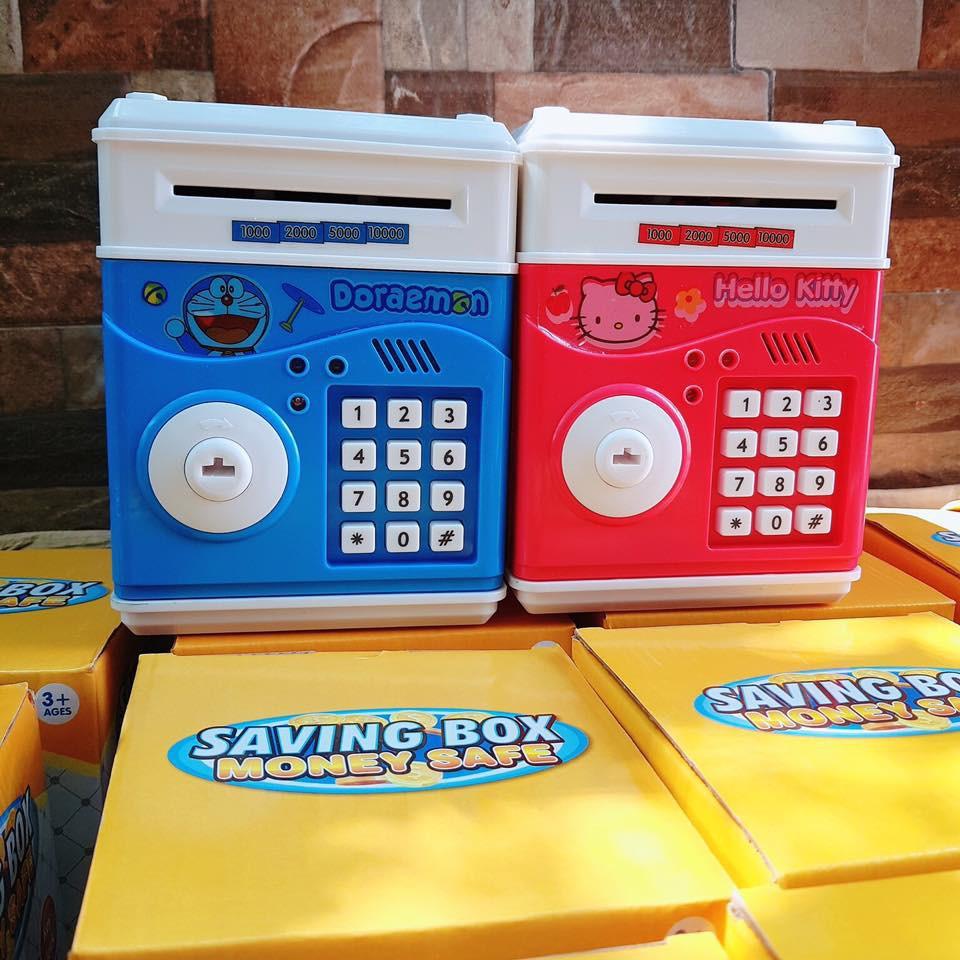 Két sắt mini có chìa với nhiều màu và nhiều hình đa dạng VP60102