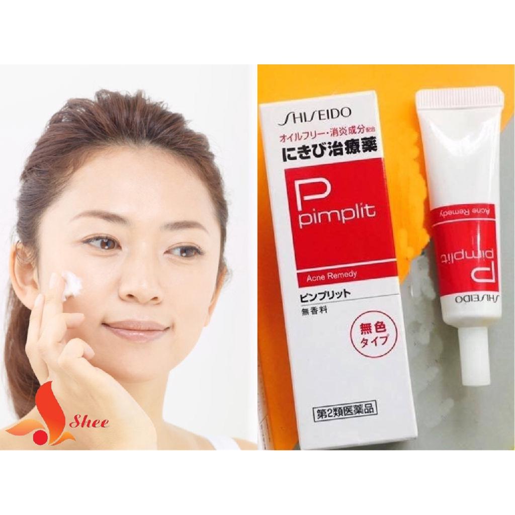 Sản phẩm kem trị mụn ẩn Shiseido Pimplit