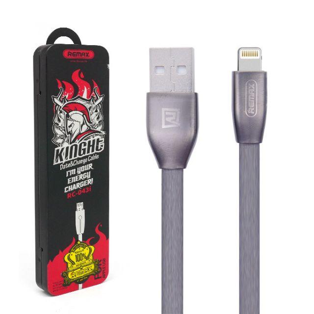 Cáp Lightning Chính Hãng Remax Knight Cho iPhone iPad