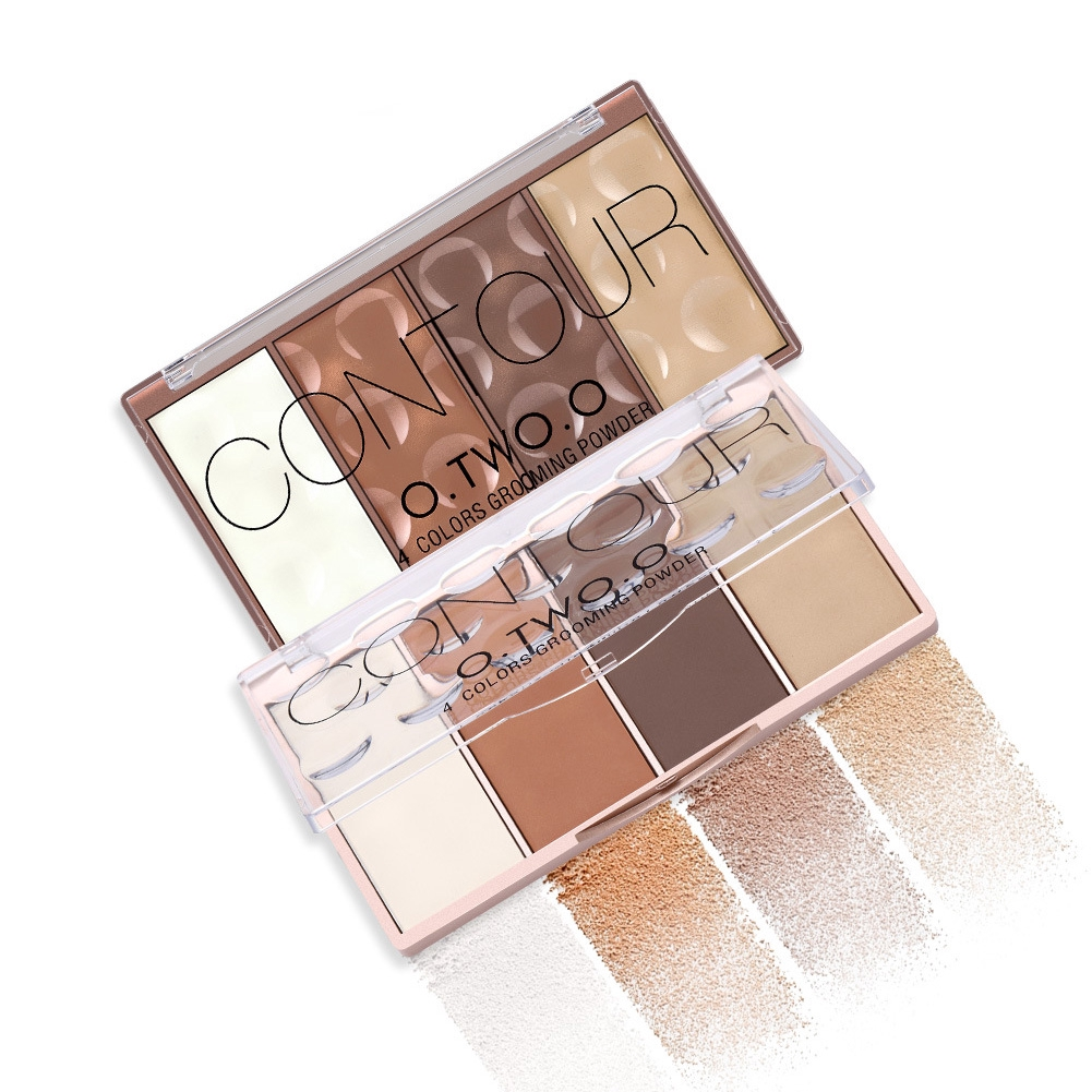 Highlighter Home Use Contour Long Lasting Makeup Powder With Palette Facial Natural Blush Set