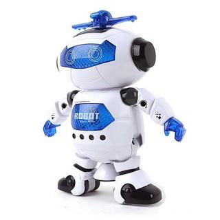 [Trợ giá]Robot Biết Nhảy Và Hát Xoay 360 Độ