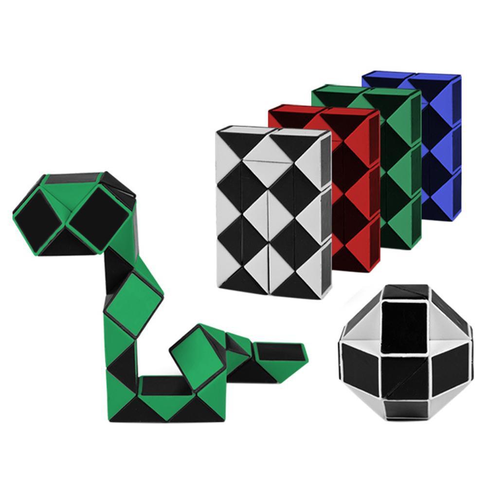 🔥Big-Sale🔥 24 Blos Children 3D Magic Cube Twist Logic Brain Teaser Game Toy Puzzle PR13