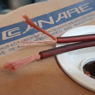 Dây loa CANARE Nhật Chất âm Cực Chuẩn lõi dây 4.0x2 Cho chất âm đều 3 Dãi tầng âm thumbnail