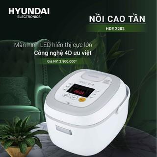 Nồi cơm điện cao tần Hyundai HDE 2202W/R – 1.5L, Bảo hành 12 tháng [Chính Hãng][FreeShip]