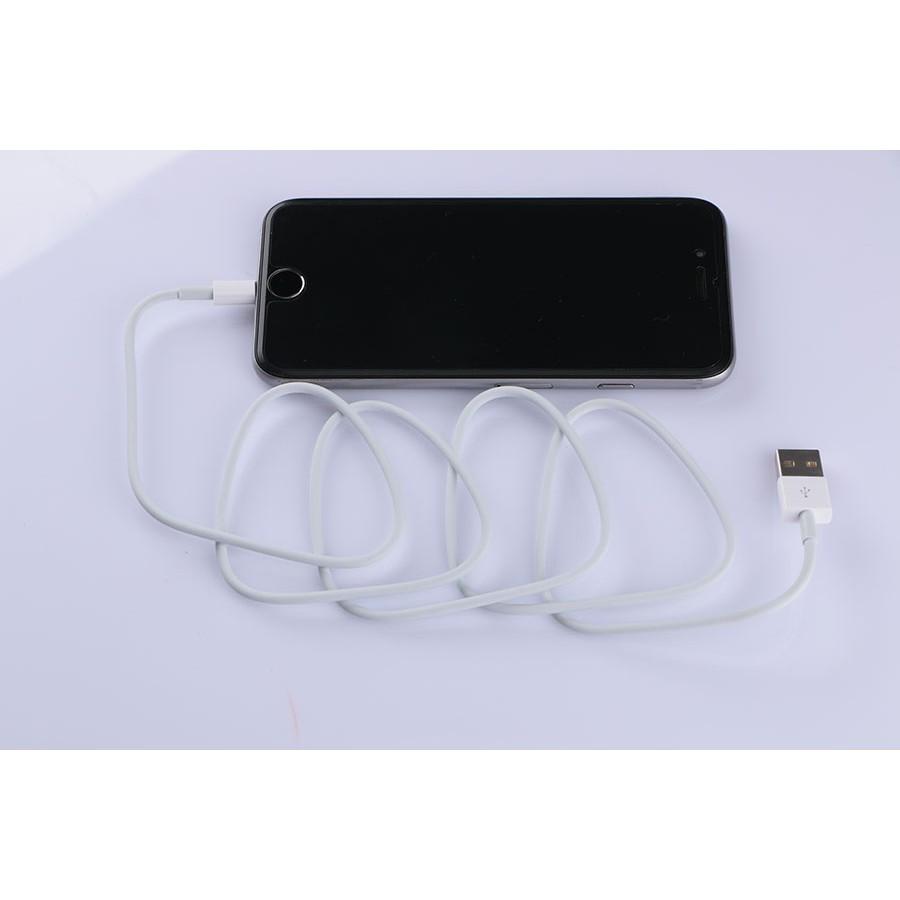 Cáp sạc lightning dài 2m cho Iphone Ipad