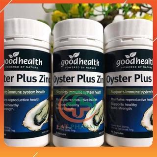 Tinh chất hàu New Zealand Good Health Oyster Plus tăng cường sinh lý nam giới thumbnail