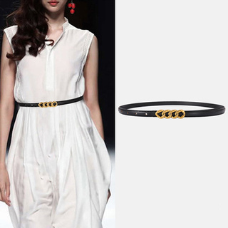 Đai váy thắt lưng nữ Nutushop kiểu dáng thời trang cá tính chất liệu da thật bản nhỏ hàng cao cấp NT293 thumbnail