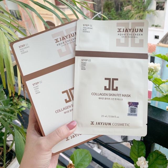 Mặt Nạ JAYJUN Collagen Skin Fit Mask Pack