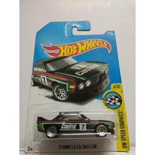 Xe Mô Hình Chính Hãng HotWheels – 73 BMW 3.0 CSL Race Car