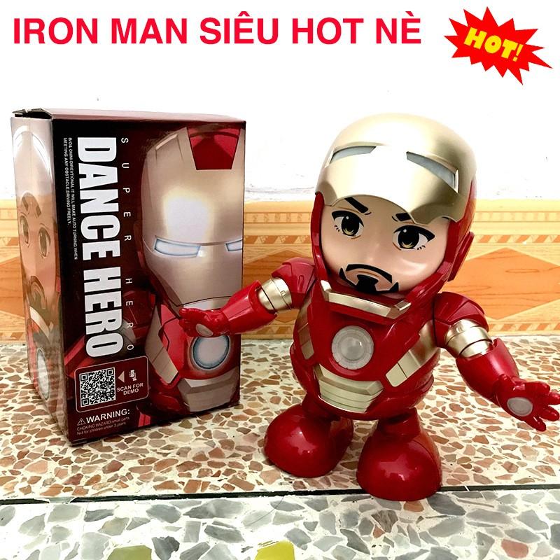 [ Hàng Thật ] Đồ Chơi RoBot Iron Man - Người Sắt Nhảy Múa