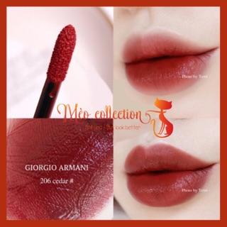 Son kem Giorgio Armani Lip Maestro màu 206 Cedar