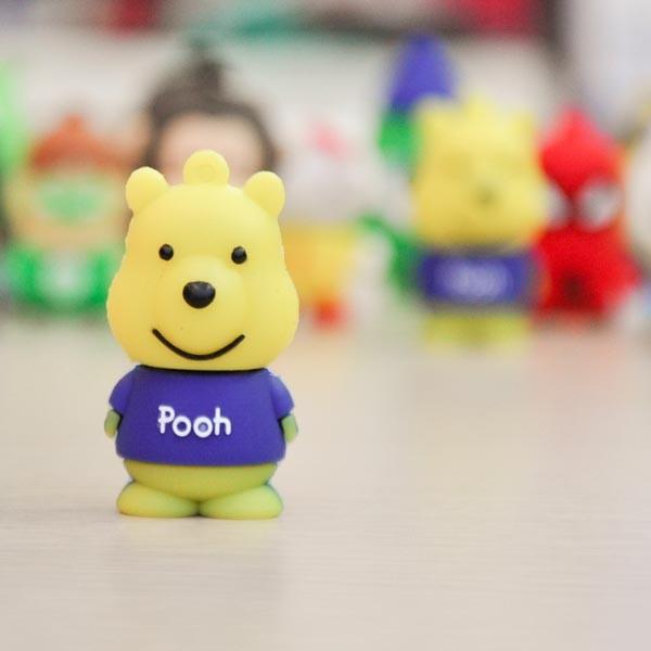 USB lưu trữ Animation Silicon Power T03 16GB Gấu Pooh
