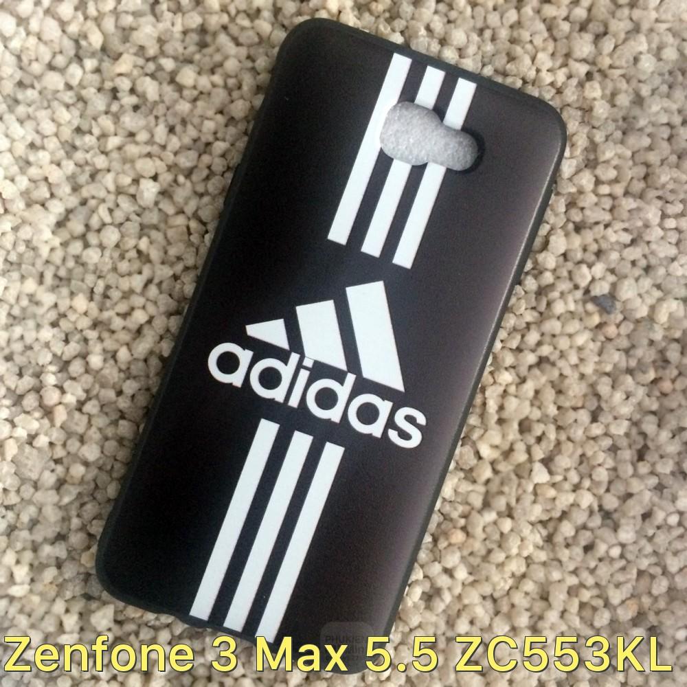 Ốp lưng dẻo đen có logo dành cho Asus Zenfone 3 Max 5.5 ZC553KL
