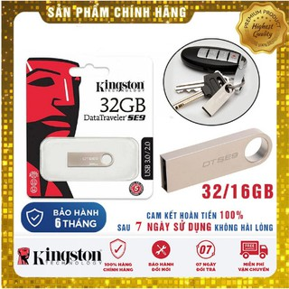 [Mã ELORDER5 giảm 10K đơn 20K] [Miễn Phí Vận Chuyển 50K] USB KINGSTON 8GB/16GB/32GB/64GB - Bảo hành 6 tháng