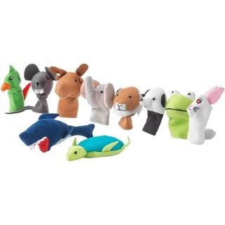 [SALE OFF] Đồ chơi cho bé bộ 10 thú bông xỏ ngón tay IKEA TITTA DJUR (Made in Indonesia)